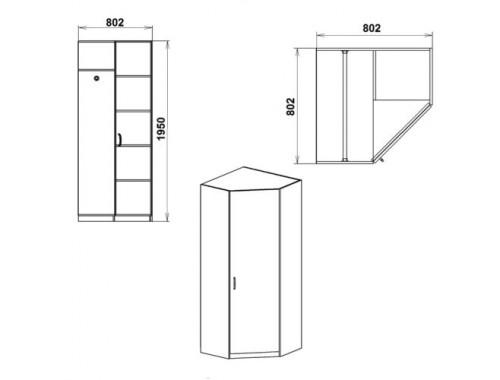 Шкаф 3У